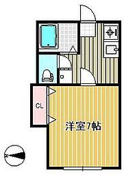 セントポーリア荘[2階]の間取り