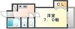 BIGBAN[3階]の間取り