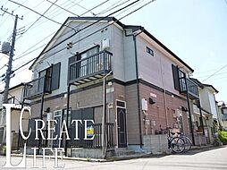 埼玉県さいたま市南区内谷2丁目の賃貸アパートの外観