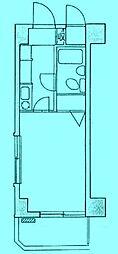 クレセントユニ高津第2[3階]の間取り