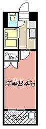アリビオ黒崎[701号室]の間取り