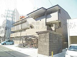 大阪府大阪市平野区長吉長原西1丁目の賃貸アパートの外観