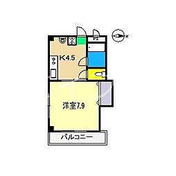 メゾン・デュ・ソレイII[3階]の間取り