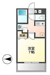 キャノンピア鶴舞[3階]の間取り