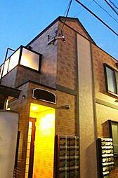 東京都新宿区北山伏町の賃貸アパートの外観