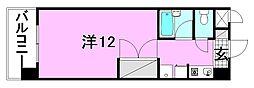 エトワール和泉[203 号室号室]の間取り
