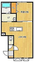 美芳町新築物件[2-B号室]の間取り