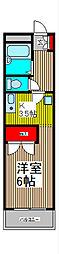 神田ハイツ[1階]の間取り