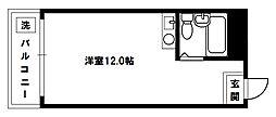 ロイヤルハイツ豊里A棟[1階]の間取り