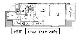 ミラージュパレス南船場[901号室号室]の間取り