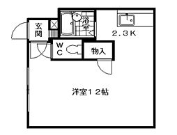 NANGOU ISLAND[00201号室]の間取り