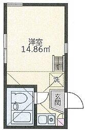 ユナイトステージ汐入弐番館[102号室]の間取り