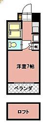 タニックス黒崎[5階]の間取り