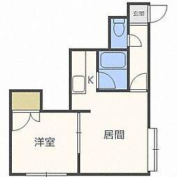 プレドニア24[2階]の間取り