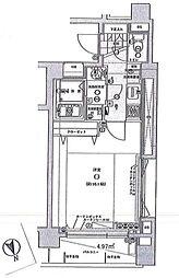 エクセリア桜上水[12階]の間取り