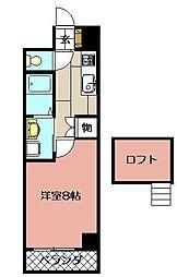 エクセレント藤[2階]の間取り