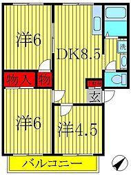アーバンタカハシ7[203号室]の間取り