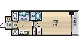 エステムヒルズ新大阪[10階]の間取り