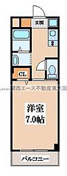 epoch 昭和町[1階]の間取り