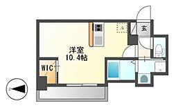 仮)ハーモニーレジデンス名古屋新栄[9階]の間取り