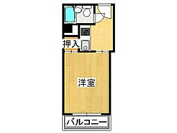 ソシオコート難波[3階]の間取り