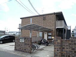 京都府京都市伏見区竹田中島町の賃貸アパートの外観