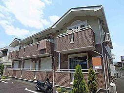 千葉県松戸市常盤平4丁目の賃貸アパートの外観