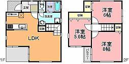 [一戸建] 茨城県ひたちなか市金上 の賃貸【/】の間取り