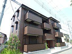 埼玉県越谷市大沢3丁目の賃貸アパートの外観