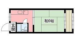 三征マンション[3階]の間取り