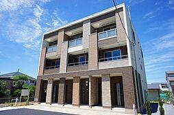 埼玉県越谷市大成町2丁目の賃貸アパートの外観