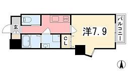 レジデンスM姫路[801号室]の間取り