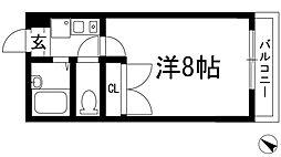 AGURA HITOKURA[2階]の間取り