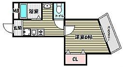 エレガンスくみの木[2階]の間取り