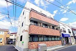 東京都清瀬市野塩5丁目の賃貸アパートの外観
