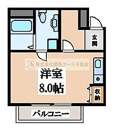 エヌエムセット[3階]の間取り