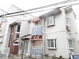 大阪府四條畷市岡山東4丁目の賃貸アパートの外観