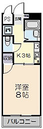 Lumiere KASUGA[203号室]の間取り