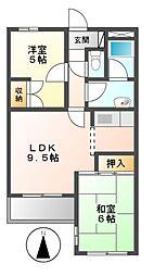 SRKビルディング2[2階]の間取り