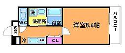 クレストI[2階]の間取り