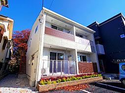 埼玉県新座市菅沢2丁目の賃貸アパートの外観