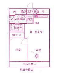 アズマヤ栄橋ビル[4階]の間取り