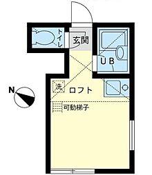 ユナイト 鶴見スリー[1階]の間取り