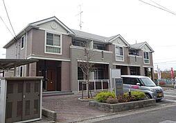 広島県東広島市三永3丁目の賃貸アパートの外観
