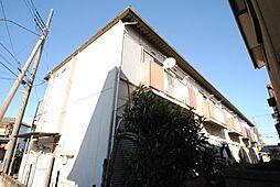 埼玉県越谷市蒲生4丁目の賃貸アパートの外観