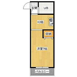 VIPエスポート[6階]の間取り