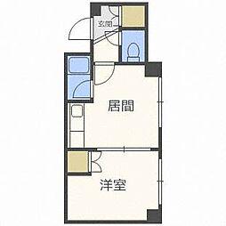 サニープレイスN33[4階]の間取り