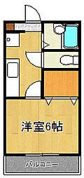 元町ガーデン12[3階]の間取り