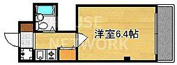 シュール西賀茂[3C号室号室]の間取り