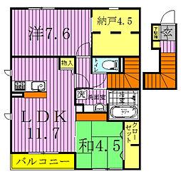 京〜ミヤコ〜[4201号室]の間取り
